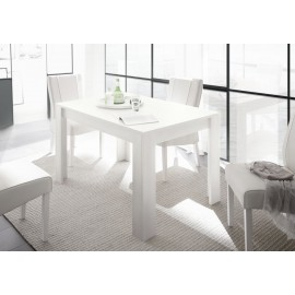 Firenze Tavolo 180 Cm Allungabile Bianco Opaco Web Con